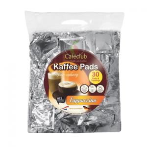Cafeclub Supercreme Cappuccino Megabeutel Koffiepads 30 stuks