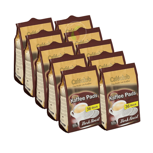 Cafeclub Supercreme Dark Roast Koffiepads 36 stuks