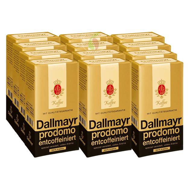 Dallmayr Prodomo Entcoffeiniert Filterkoffie 500 gram