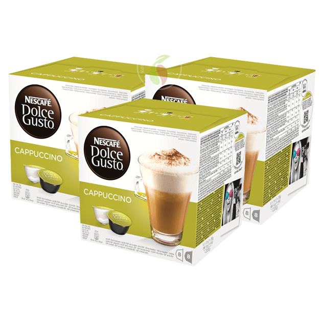 Nescafe Dolce Gusto Cappuccino Koffiecups 16 stuks