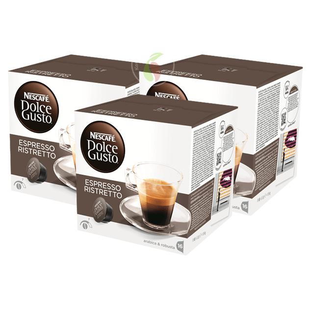 Nescafe Dolce Gusto Espresso Ristretto Koffiecups 16 stuks