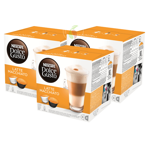 Nescafe Dolce Gusto Latte Macchiato Koffiecups 16 stuks