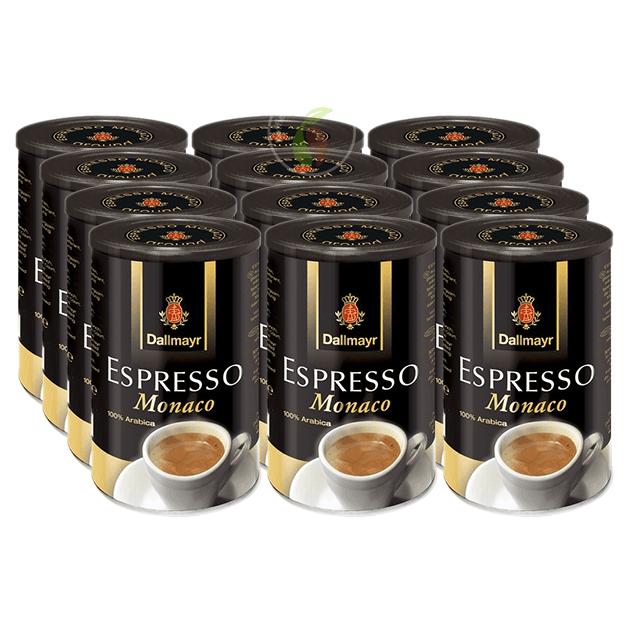 Dallmayr Espresso Monaco Tin Blik Filterkoffie 250 gram