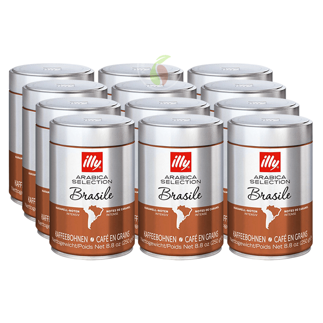 illy Monoarabica Brazilië Koffiebonen 250 gram